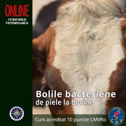 """Curs """"Bolile bacteriene de..."""
