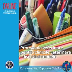 """Curs """"Protocoale veterinare..."""